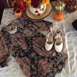 Blouson Boho Dress